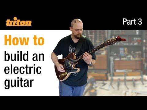 Part 3 - Build an electric guitar with Crimson Guitars