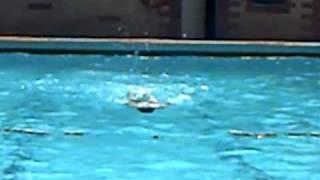 afghan boy's swimming