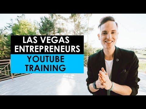 Las Vegas Entrepreneurs YouTube and Online Video Training