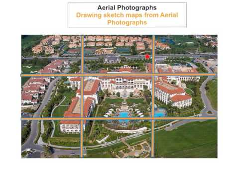 Aerial Photographs - Drawing sketch maps