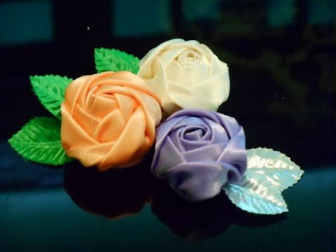 DIY Fabric flowers how to make