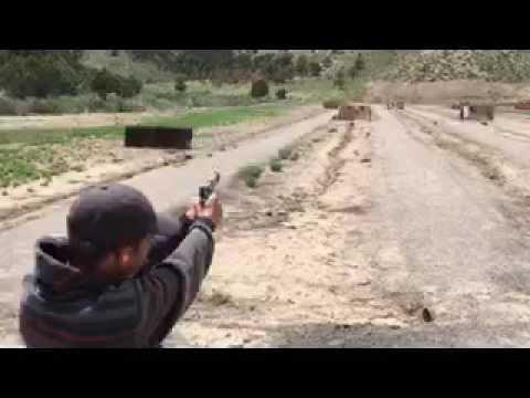 Me shooting a 45 colt