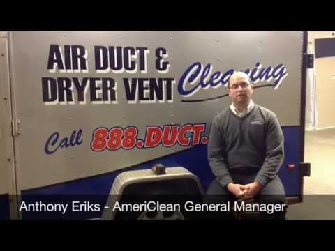 Northwest Indiana Video Assisted Duct Cleaning System