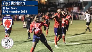 HIGHLIGHTS Bromsgrove Sporting V St Ives Town 23112019
