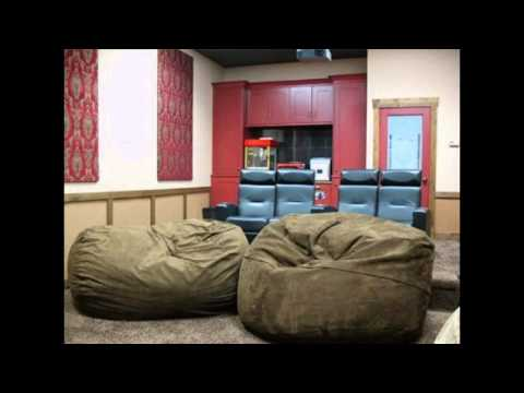 Home theatre seating ideas