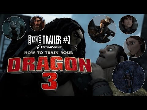 How To Train Your Dragon: The Hidden World - Trailer (Fan Trailer)