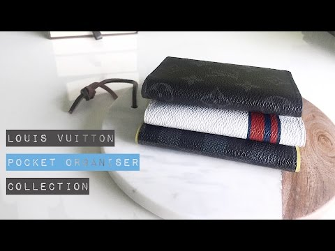 Louis Vuitton // Pocket Organiser Collection