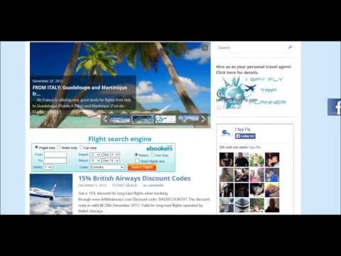 ISPYFLY how to find cheap flight tickets