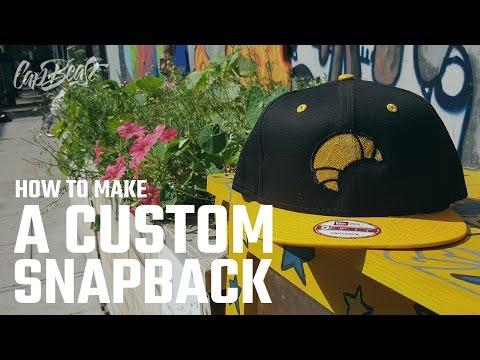 How to make a custom snapback