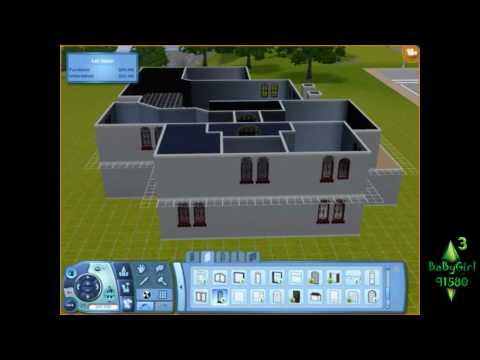 The Sims 3- Building elegant country manor (part 1)