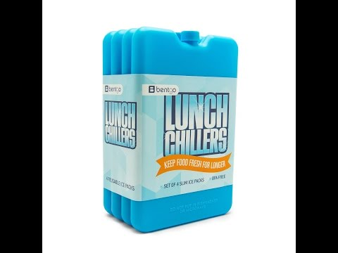 Review:  Bentgo Ice Lunch Chillers - Ultra-thin Ice Packs (4 Pack - Blue)