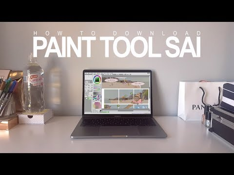 How to DOWNLOAD Paint Tool SAI  - Full, Free and Easy [2018] | Tutorial