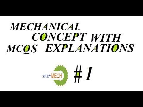 MECHANICAL QUESTIONS ANSWERS (FOR  ALL EXAM )