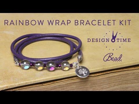 Rainbow Wrap Bracelet Kit - Design Time