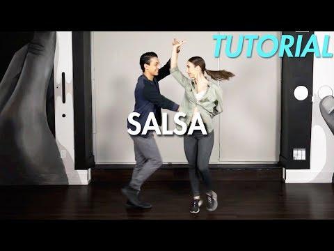 How to Salsa: Quick Salsa Combo - Part 1 (Ballroom Dance Moves Tutorial) | MihranTV