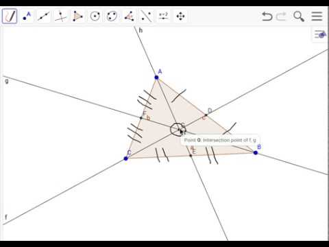 Finding/Making a Centroid for an Acute Triangle