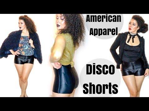 American Apparel Disco Shorts   How To Wear Disco Shorts   Fall Fashion Lookbook