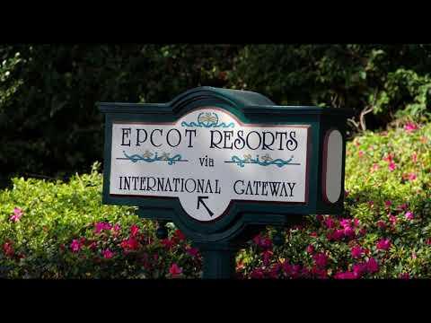 International Gateway Area Music Loop - Epcot
