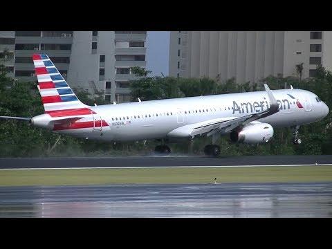 American Airlines A321 Emergency Landing in San Juan (SJU), Puerto Rico