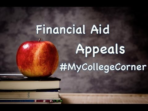 Can I appeal for more financial aid? My College Corner 04
