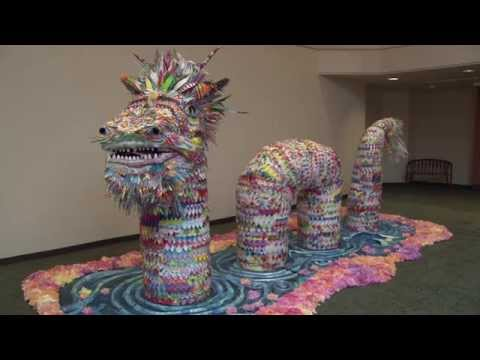 How a monstrous art project brought cancer patients together