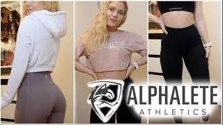 Alphalete review and try on - new releases!