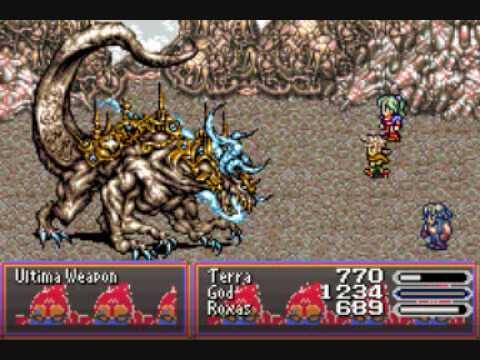 Final Fantasy 6 Advance Boss #21 Ultima Weapon
