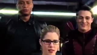 Arrow Season 3 Bloopers