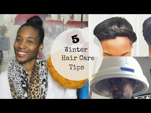 5 Winter Hair Care Tips I Relaxed Hair