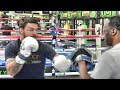 More Platinum Mike Perry At The Mayweather Boxing Club Day 2 With Jeff Mayweather