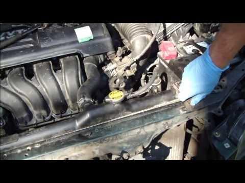 How to change radiator Toyota Corolla. Years 2000-2008.