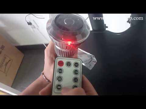 WISEUP 720P HD Light Bulb Operation Instruction and Video Footage (Model Number: BC303)