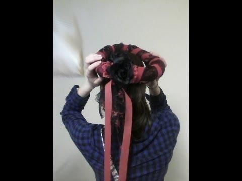 Headdress (last minute costume)