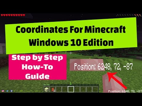 How to Get Coordinates in Minecraft Windows 10 Edition -  Coordinates Unlocker Addon
