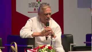 Lit for Life 2014 - Poetry with Gulzar