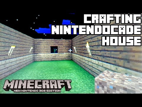 CRAFTING NintendoCade GAMING House! [MINECRAFT: New Nintendo 3DS Edition]