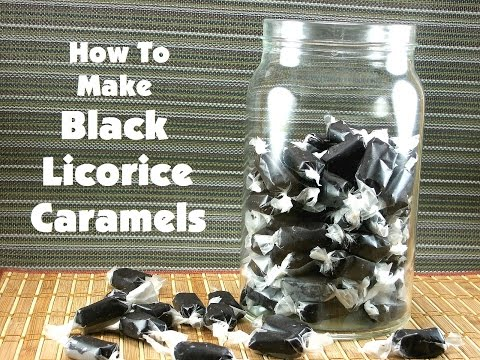 How To Make Black Licorice Caramels
