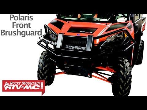 Polaris Ranger 900XP Front Brushguard Installation