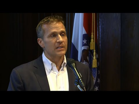 Missouri Governor Resigns Amid Affair Scandal