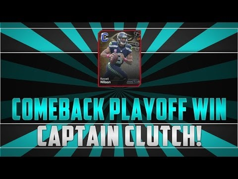 Madden 25 MUT Russel Wilson Comback Playoff Win