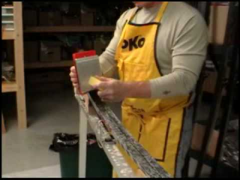 Applying Soft Wax to Cross Country Skis