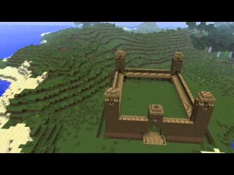 Minecraft Timelapse - Roman Army Camp