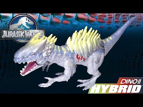 Opening: Dino Hybrid Armor INDOMINUS REX Bashers and Biters Dinosaur Figure Toy