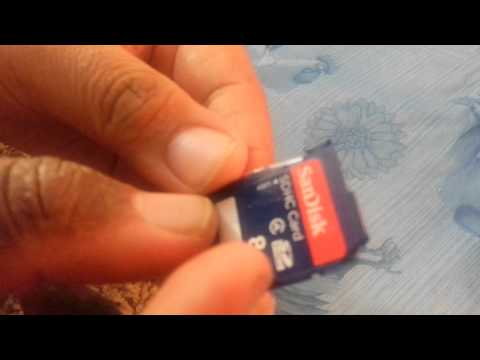 How to unlock SanDisk memory Card (broken lock, write protected)