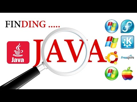 Where is JAVA JVM JDK installed located on my System.