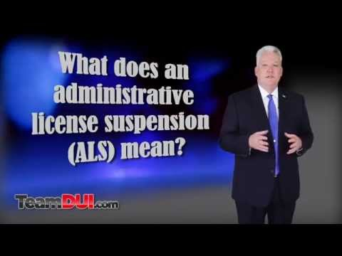 GA DDS 1205 | GA ALS | DUI License Suspension | How To Fight It
