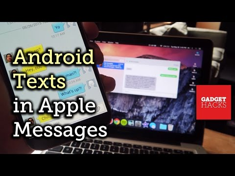 Use Your Android Phone with the Messages App on a Mac [How-To]