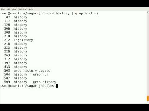 grepping history in Linux another cool feature on the command line