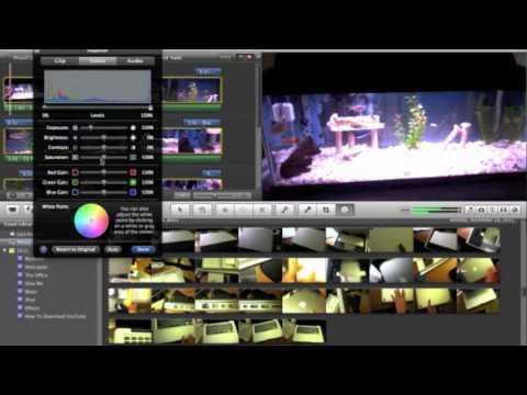 How Make Movie Black and White in iMovie