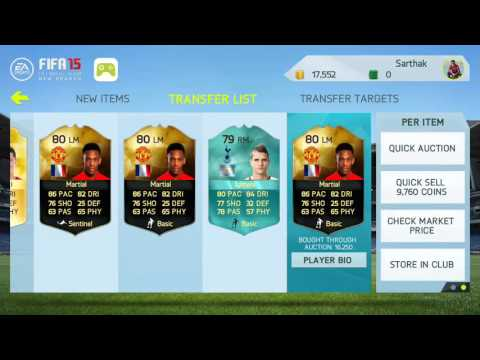 FIFA 15 ANDROID/IOS How to make Millions of coins Inform trading method + 50k giveaway